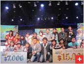 RWC 2013 1st winner Thailand and 2nd winner Japan