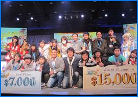 RWC 2013 1위 태국팀과 2위 일본팀