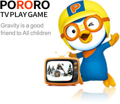 pororo tv play game - Gravity is a good friend  to All children.